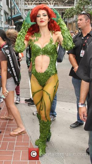 Adrianne Curry - 2014 Comic-Con International: San Diego - Celebrity Sightings - San Diego, California, United States - Friday 25th...