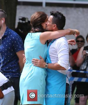 Peter Andre and Melanie Sykes