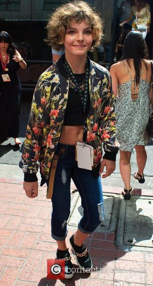 Camren Bicondova - San Diego Comic-Con International - Day 3 - Celebrity Sightings - San Diego, California, United States -...