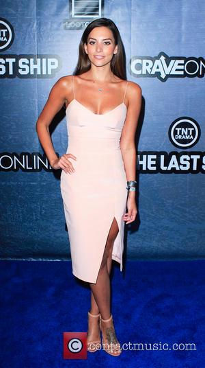 Genesis Rodriguez - Comic-Con International: San Diego - TNT and CraveOnline celebrate 'The Last Ship' aboard the USS Midway, featuring...
