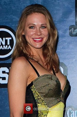 Maitland Ward - Comic-Con International: San Diego - TNT and CraveOnline celebrate 'The Last Ship' aboard the USS Midway, featuring...