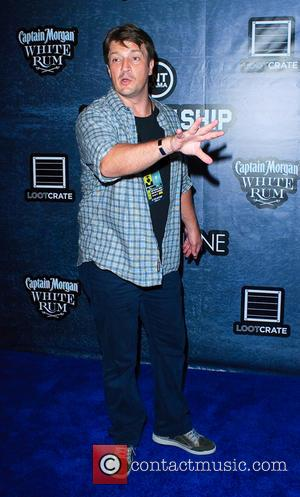 Nathan Fillion - Comic-Con International: San Diego - TNT and CraveOnline celebrate 'The Last Ship' aboard the USS Midway, featuring...