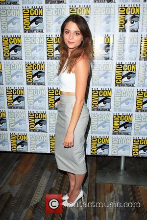 Stephanie Leonidas - Cast members from 'Defiance' make an appearance in the press room at San Diego Comic Con 2014...
