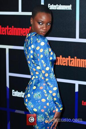 Danai Gurira - Entertainment Weekly Party held at the Hard Rock Hotel - Arrivals - San Diego, California, United States...