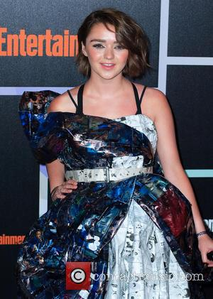 Maisie Williams - Entertainment Weekly Party held at the Hard Rock Hotel - Arrivals - San Diego, California, United States...