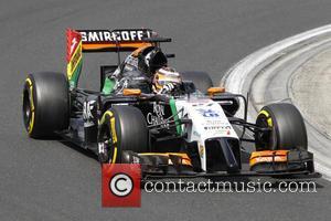 Nico Hülkenberg and (HUELKENBERG) - Nico Hülkenberg, (HUELKENBERG), Ger, Team Sahara Force India F1,Force Ind. VJM07, Mercedes-Benz PU106A,MOGYOROD, BUDAPEST, Hungary...