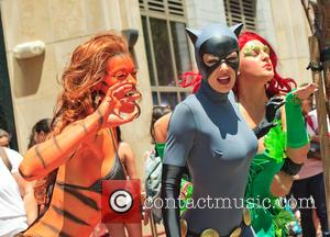 Adrianne Curry - San Diego Comic-Con International - Day 3 - Celebrity Sightings - San Diego, California, United States -...