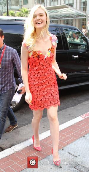Elle Fanning - San Diego Comic-Con International - Day 3 - Celebrity Sightings - San Diego, California, United States -...