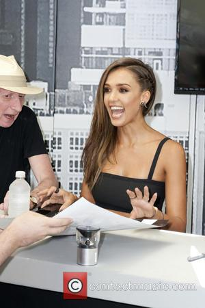 Frank Miller and Jessica Alba