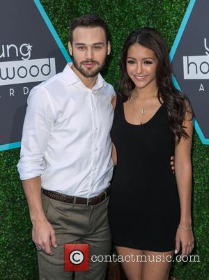 Ryan Guzman and Melanie Iglesias