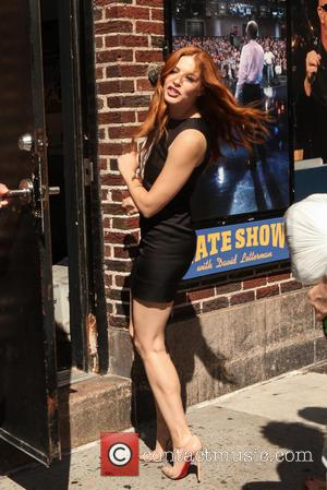 Rachelle Lefevre - Celebrities outside The Ed Sullivan Theater for The Late Show with David Letterman - New York City,...