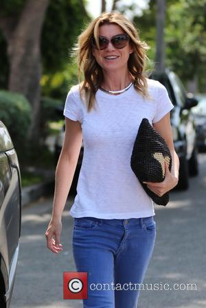 Ellen Pompeo - Ellen Pompeo exits a salon at West Hollywood - Los Angeles, California, United States - Tuesday 29th...