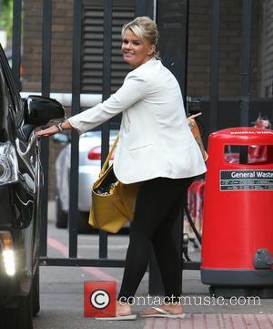 Kerry Katona - Kerry Katona outside ITV Studios - London, United Kingdom - Tuesday 29th July 2014