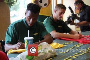Jordan Henderson and Daniel Sturridge