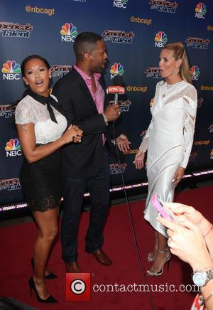 Mel B, Aj Calloway and Heidi Klum