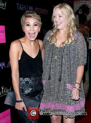 Chelsea Kane and Melissa Peterman - Tahj Mowry performs at Sir Studios in Hollywood - Arrivals - Los Angeles, California,...
