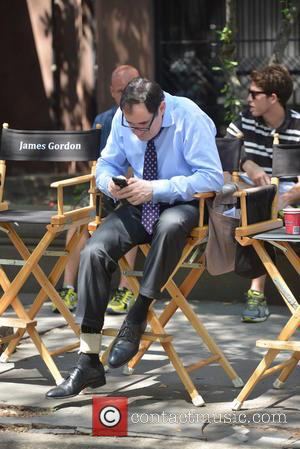 Richard Kind - Filming on location for Fox's Batman prequel TV series 'Gotham' - New York City, New York, United...