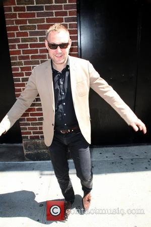 David Gray - Late Show with David Letterman - Arrivals - New York City, New York, United States - Wednesday...