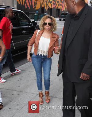 Tameka Cottle - Late Show with David Letterman - Arrivals - New York City, New York, United States - Wednesday...
