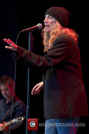 Patti Smith - Patti Smith performing live on stage at Liseberg  amusement park - Gothenburg, Sweden - Wednesday 30th...
