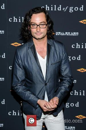Constantine Maroulis - New York screening of 'Child of God' - Arrivals - New York City, New York, United States...