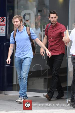 James Buckley and Blake Harrison