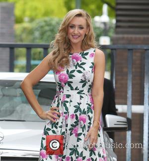 Catherine Tyldesley - Catherine Tyldesley outside the ITV studios - London, United Kingdom - Wednesday 30th July 2014