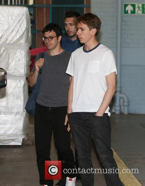 Simon Bird, Joe Thomas and Blake Harrison - The cast of 'The Inbetweeners' outside the ITV studios - London, United...