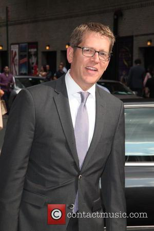 Jay Carney - Celebrities outside The Ed Sullivan Theater for The Late Show with David Letterman - New York City,...