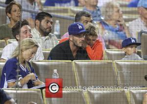 David Beckham, Brooklyn Beckham, Romeo Beckham and Cruz Beckham