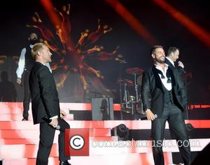 Ronan Keating, Keith Duffy, Mikey Graham, Shane Lynch and Boyzone