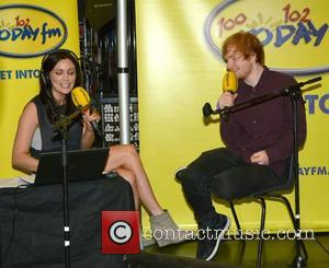 Louise Duffy and Ed Sheeran