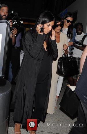 Kim Kardashian, Kris Jenner and Kendall Jenner