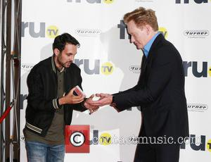 Dynamo and Conan O'Brien - truTV launch party at the Old Truman Brewery - Arrivals - London, United Kingdom -...