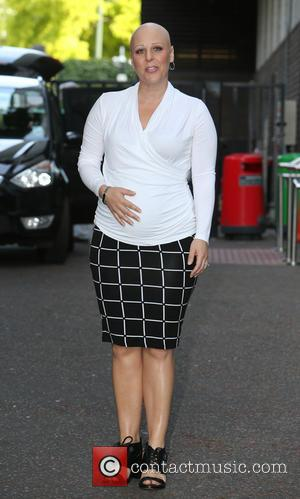 Nell Bryden - Celebrities at the ITV studios