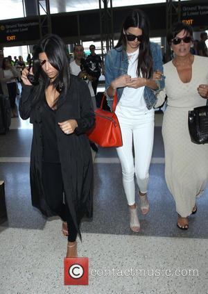 Kim Kardashian, Kendall Jenner and Kris Jenner