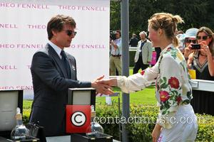 Tom Cruise and Edie Campbell - Tom Cruise at Goodwood Racecourse for 'Glorious Goodwood - Ladies Day' - Goodwood, United...