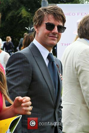 Tom Cruise - Tom Cruise at Goodwood Racecourse for 'Glorious Goodwood - Ladies Day' - Goodwood, United Kingdom - Thursday...