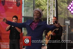 Aloe Blacc - Aloe Blacc performing live on the 'Today' show as part of NBC's Toyota  Summer Concert Series...