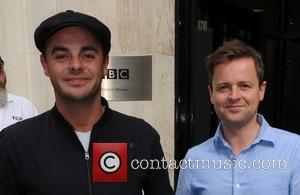 Anthony McPartlin, Declan Donnelly, Ant and Dec - Celebrities outside the BBC Radio 2 studios - London, United Kingdom -...