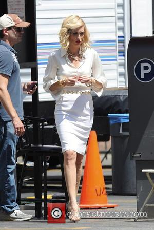 Paz Vega - Paz Vega sports a blonde hairdo on the set of 'Beautiful and Twisted,' which is currently filming...