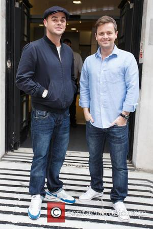 Anthony McPartlin and Declan Donnelly - Celebrities arriving at the BBC Radio 2 studios - London, United Kingdom - Friday...