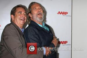 Jeff Bridges and Beau Bridges - AARP Luncheon in honor of Jeff Bridges who appears on the August/September cover of...