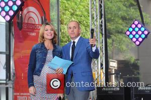 Savannah Guthrie and Matt Lauer