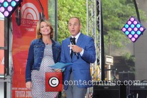 Savannah Guthrie and Matt Lauer - Aloe Blacc performing live on the 'Today' show as part of NBC's Toyota Summer...