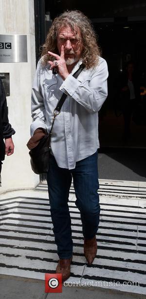 Robert Plant - Celebrities outside the BBC Radio 2 studios - London, United Kingdom - Friday 1st August 2014