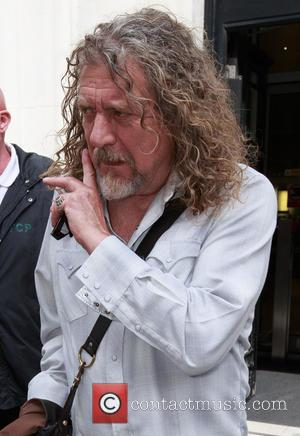 Robert Plant - Celebrities outside the BBC Radio 2 studios