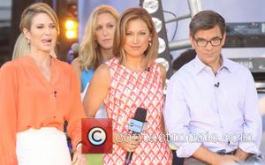 Amy Robach, Ginger Zee and George Stephanopoulos