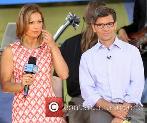 Ginger Zee and George Stephanopoulos