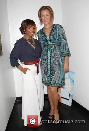 Elise Neal and Kristanna Loken - Vivica A. Fox's Fabulous 50th Birthday Celebration - Los Angeles, California, United States -...